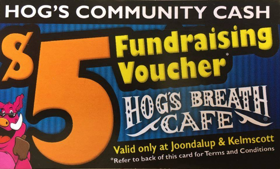 Hog's Breath Community Cash Program